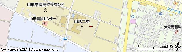 山形県山形市西崎周辺の地図