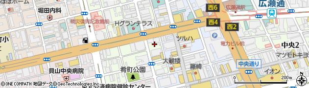 宮城県仙台市青葉区国分町1丁目6周辺の地図