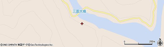 三面大橋周辺の地図