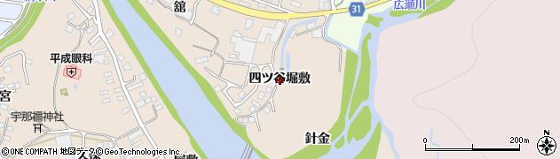宮城県仙台市青葉区郷六(四ツ谷堀敷)周辺の地図