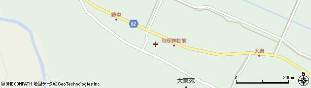 秋保神社周辺の地図