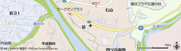 宮城県仙台市青葉区郷六(舘)周辺の地図