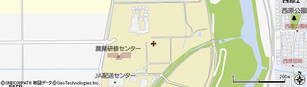 山形県山形市東古館周辺の地図