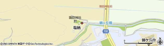 宮城県仙台市青葉区上愛子(宮下)周辺の地図