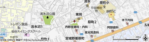 陽雲寺周辺の地図