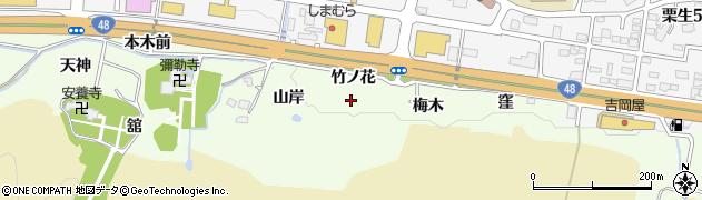 宮城県仙台市青葉区下愛子(山岸)周辺の地図