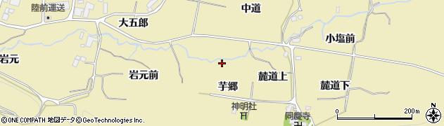 宮城県仙台市青葉区上愛子(岩元前)周辺の地図