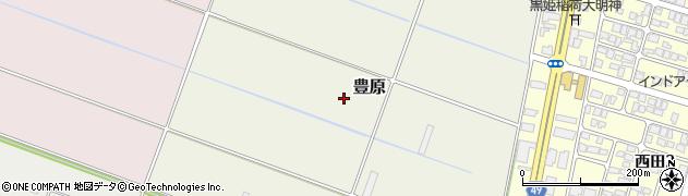 山形県山形市豊原周辺の地図