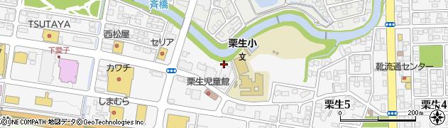 宮城県仙台市青葉区下愛子(鶴)周辺の地図