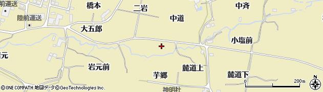 宮城県仙台市青葉区上愛子(大五郎)周辺の地図