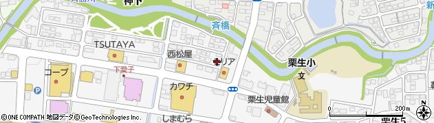 宮城県仙台市青葉区下愛子(斉)周辺の地図