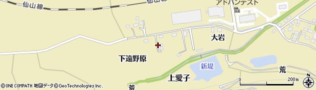 宮城県仙台市青葉区上愛子(大岩)周辺の地図