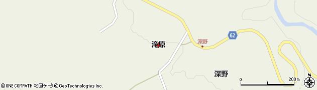 宮城県仙台市太白区秋保町馬場(滝原)周辺の地図