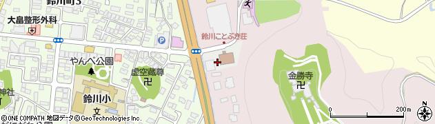 山形県山形市下山家町周辺の地図