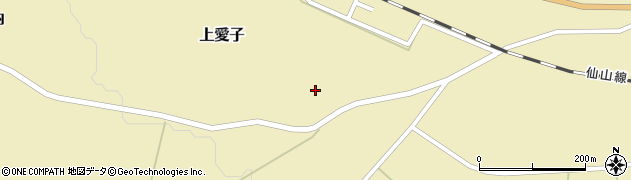 宮城県仙台市青葉区上愛子(下北)周辺の地図