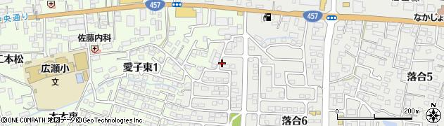 宮城県仙台市青葉区下愛子(棟林)周辺の地図