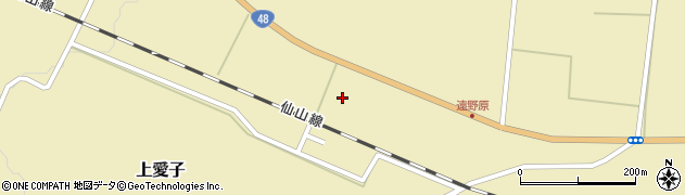 宮城県仙台市青葉区上愛子(中遠野原)周辺の地図