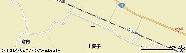 宮城県仙台市青葉区上愛子周辺の地図