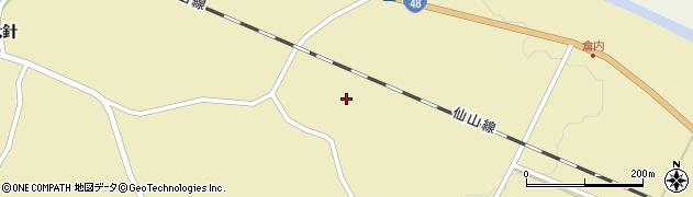 宮城県仙台市青葉区上愛子(寺)周辺の地図