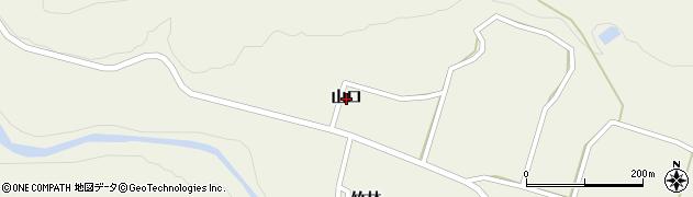 宮城県仙台市太白区秋保町馬場(山口)周辺の地図