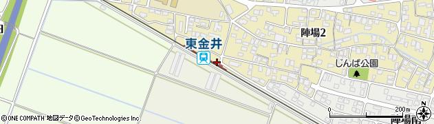 山形県山形市周辺の地図