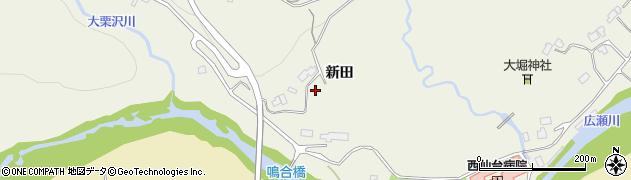 宮城県仙台市青葉区芋沢(新田)周辺の地図