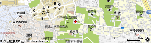 大願寺周辺の地図