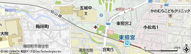 仙岳院周辺の地図
