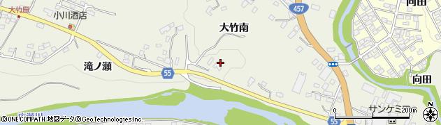 宮城県仙台市青葉区芋沢(大竹南)周辺の地図