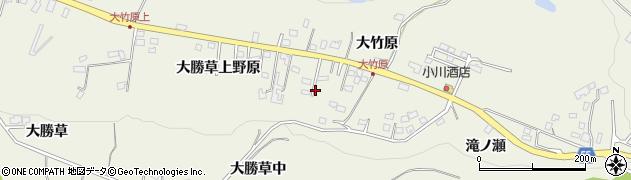 宮城県仙台市青葉区芋沢(大勝草上野原)周辺の地図