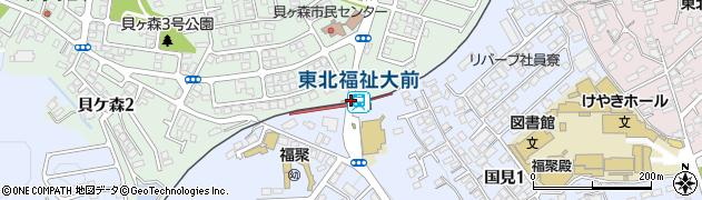 駅 駅 仙台 大 から 福祉 東北 前