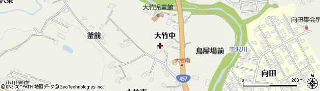 宮城県仙台市青葉区芋沢(大竹中)周辺の地図