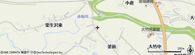 宮城県仙台市青葉区芋沢(釜前)周辺の地図