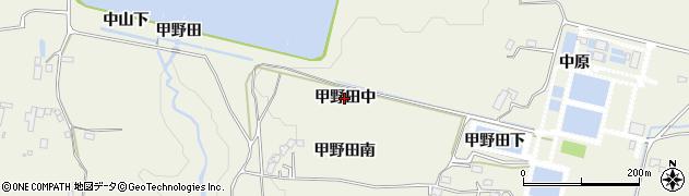 宮城県仙台市青葉区芋沢(甲野田中)周辺の地図