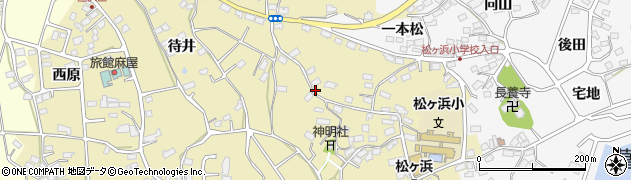 宮城県宮城郡七ヶ浜町松ヶ浜神明裏周辺の地図