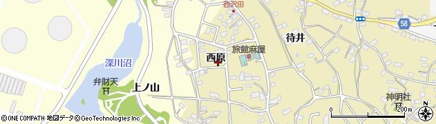 宮城県宮城郡七ヶ浜町松ヶ浜西原周辺の地図