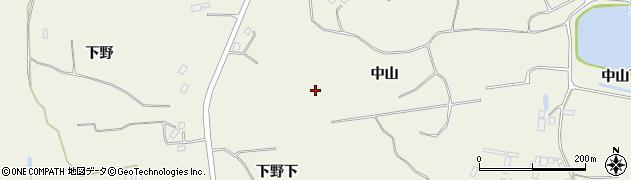 宮城県仙台市青葉区芋沢(中山)周辺の地図