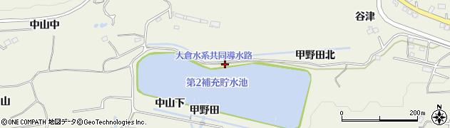 宮城県仙台市青葉区芋沢(甲野田)周辺の地図