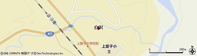 宮城県仙台市青葉区上愛子(白沢)周辺の地図