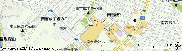 宮城県仙台市青葉区南吉成周辺の地図
