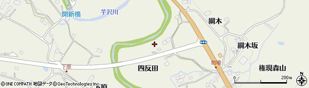 宮城県仙台市青葉区芋沢(四反田)周辺の地図