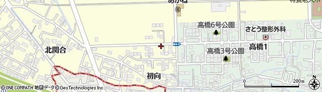 宮城県多賀城市新田中周辺の地図