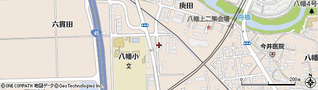 宮城県多賀城市八幡六貫田周辺の地図
