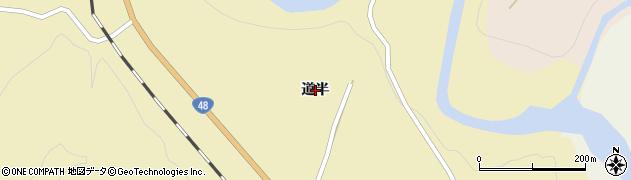 宮城県仙台市青葉区上愛子(道半)周辺の地図
