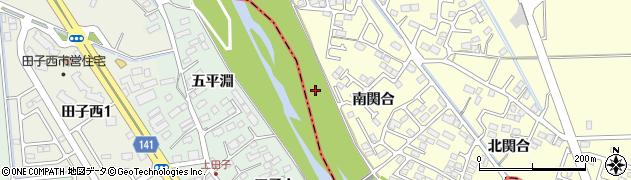 宮城県多賀城市新田下河原周辺の地図