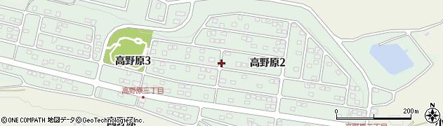 宮城県仙台市青葉区高野原周辺の地図