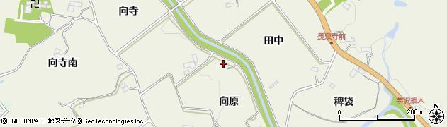 宮城県仙台市青葉区芋沢(人山)周辺の地図