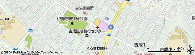 宮城県仙台市青葉区吉成周辺の地図