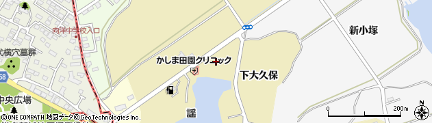 宮城県宮城郡七ヶ浜町松ヶ浜新林崎周辺の地図