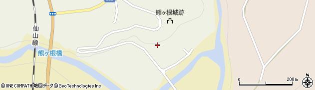 宮城県仙台市青葉区熊ケ根(野川)周辺の地図